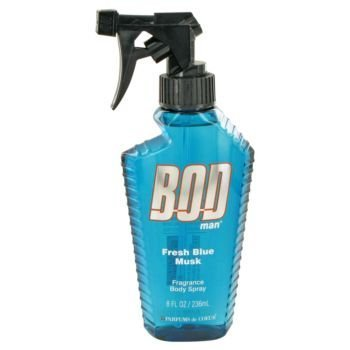 Bod Man Fresh Blue Musk By Parfums De Coeur Body Spray 8 Oz For Men by Parfums de Coeur