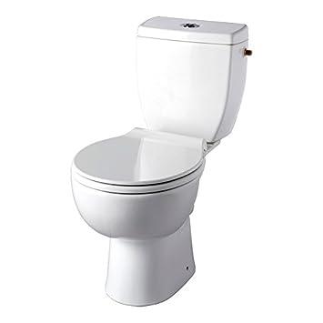 PlaneteBain Pack WC à Poser Clean Flush - Cuvette sans Bride - Sortie  Horizontale bea3a8c8632a