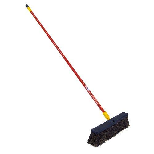 (Quickie Bulldozer 18-Inch Palmyra Fiber Push Broom)