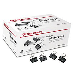 office-depotr-brand-binder-clips-medium-1-1-4in-wide-5-8in-capacity-black-pack-of-144-12-boxes-of-12