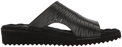 Women's Cradles Black Hartford Blk Flat Walking Sandal TFwP44x