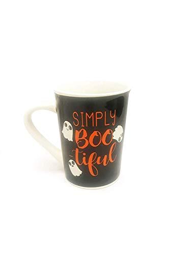 Simply BOO-tiful - Happy Halloween Ceramic Coffee -