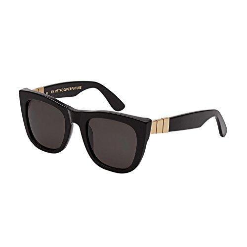 Retrosuperfuture Gals Gianni Black Sunglasses SUPER-N1B - Super Gals Sunglasses