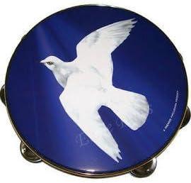 Single Jingle 10 Inch Dove Tambourine