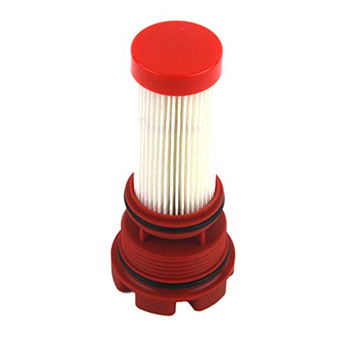 - Opiersen Replacement for DFI OptiMax Verado 35-884380T 35-8M0020349 Durable Red Fuel Filter Car Accessories