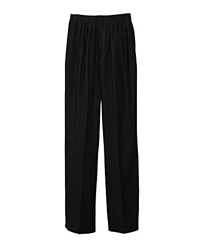 Alfred Dunner Pull-On Pants, Black, 12