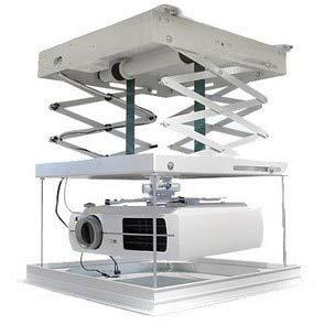 Projector Lift Model - Ochoos 1meter Motorized Electric Elevator Scissors Ceiling Projector Mount Bracket Lift Projector Ladder Remote Control 220v Ceiling - (Color: Max Load 20kg(2Motor)