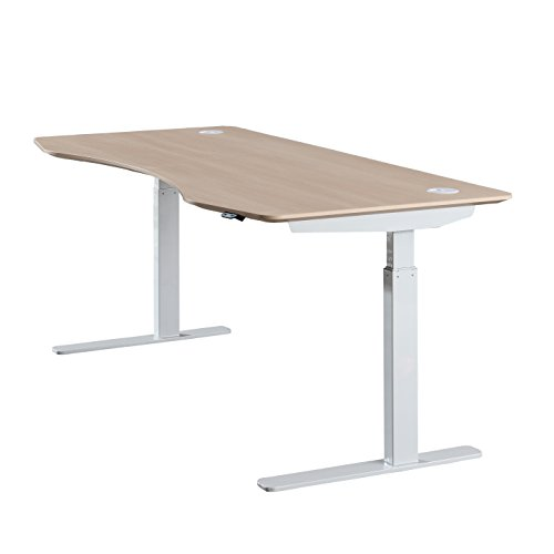 Apexdesk elite series 71 inch wide electric height for Motorized adjustable standing desk
