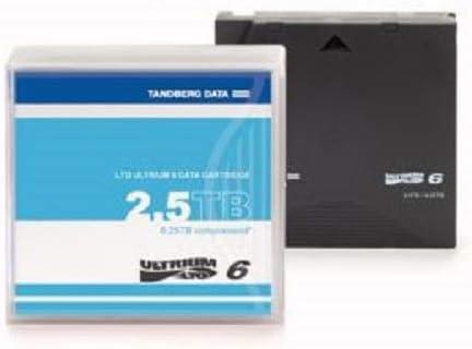 Tandberg Lto 6 Cartridge Pre Labeled 5 Pack Computer Zubehör