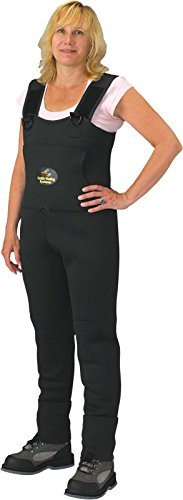 CA5907W-L Caddis Women's Neoprene Stockingfoot Waders - Large Green, Forest Green