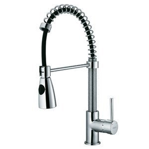 Modern Pull Out Spiral Kitchen Faucet