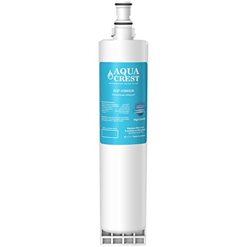 AQUACREST 4396508 Replacement Refrigerator Water Filter, Compatible with Whirlpool 4396508 4396510 EDR5RXD1, EveryDrop Filter 5, Kenmore 46-9010, PUR W10186668, NLC240V