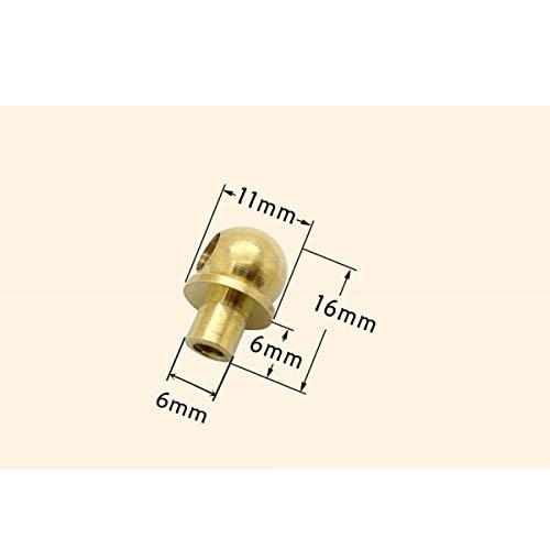 [해외구매대행 $20 81] Txinmin 6 Pack Traditional Bail Cabinet Hardware Handle  Pull Antique Brass Drawer Pull, 3-3/20 Inch Hole Centers (80mm),