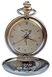 OrangeTag Fullmetal Alchemist Edward Elric's Pocket Watch & Necklace & Ring