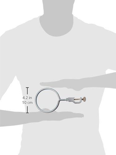United Scientific SRSR04 Steel Rod Support Ring 4 Diameter Pack of 5