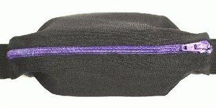 SPI Belt - Small Personal Item Belt - Black / Purple
