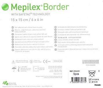 (Mepilex Border Part No. 295400 MOLNLYCKE FKA REGENT MMED-MOL295400)