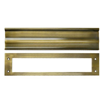Deltana MS0030U26D HD 3-1/16-Inch x 13-Inch Solid Brass Mail Slot by Deltana (Image #1)