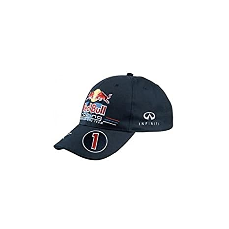 Gorra Infiniti Red Bull Racing, by Pepe Jeans, Replica Official Cap 2012 Piloto Sébastian Vettel # 0Ne: Amazon.es: Coche y moto