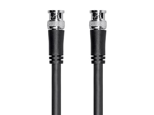 Monoprice Viper Series HD-SDI RG6 BNC Cable, 25ft