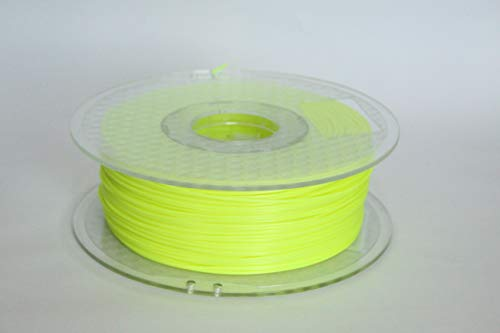 WOL 3D PLA Fluo Yellow 3D Filament (1.75 mm)
