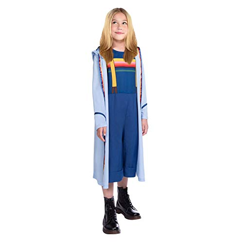 Amscan 9905883 Child Girls Doctor Who Costume (10-12yr), Blue
