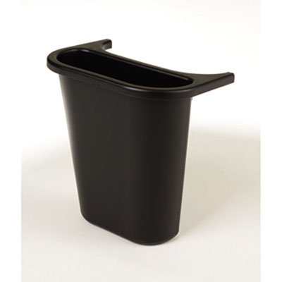 (Rubbermaid Commercial Saddle Basket Recycling Bin RCP 2950-73 BLA)