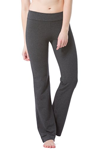 Fishers Finery Women's Ecofabric Classic Bootleg Yoga Pant