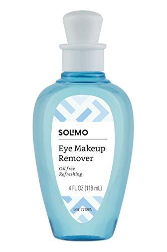 Solimo Oil-Free Eye Makeup Remover