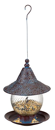 Regal Art & Gift Bird Feeder - Blue Swirl