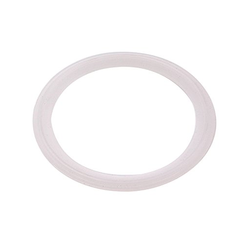 DERNORD Silicone Gasket Tri-Clover (Tri-clamp) O-Ring - 3 Inch (Pack of 1)