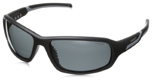 Polaroid P7406S Polarized Wrap Sunglasses