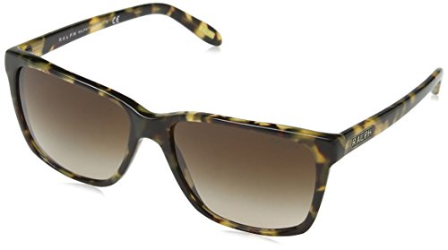 Ralph by Ralph Lauren Women's 0ra5141 Square Sunglasses, Vintage TORT, 57.0 ()