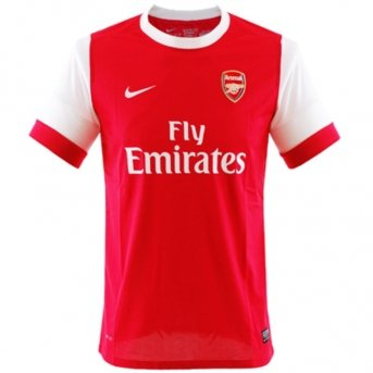 10 Home Arsenal Shirt - Nike 10-11 Arsenal Home Jersey-XL