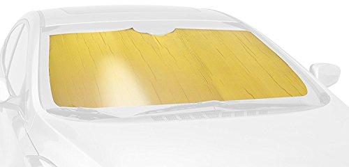 Intro-Tech NS-80-G Custom Fit Sunshade, Gold (Auto - Shade Sun Gold