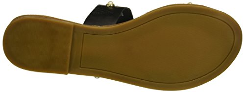 Rampage Smooth Two Sandal Black Slide Pearls Mindy Pearl Women's Band rP1frq