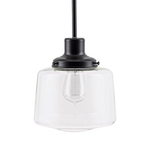 Black Globe Pendant Light in Florida - 5