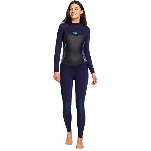 Roxy Womens 5/4/3Mm Syncro Series - Back Zip GBS Wetsuit - Women - 16 - Blue Blue Ribbon - Zip Back Gbs