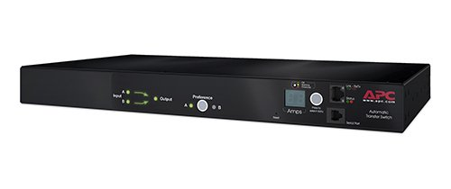 APC AP7750A Rack Ats 15A/ 10-Outlet/ 100-120V-Mount Transfer ()