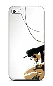 UniqueBox - Customized White Hard Plastic iPhone 5c Case, The Hunger Games iPhone 5C case