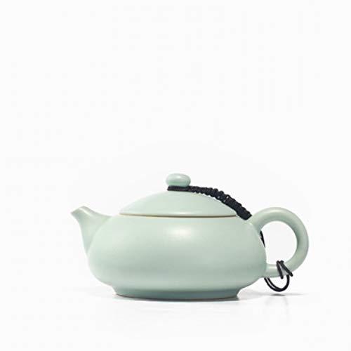 Tea Pot Ru Kiln Celadon Zisha Ceramics Arts Tay Thi tea set China Teapot Porcelain yixing Clay Antique Teapot ()