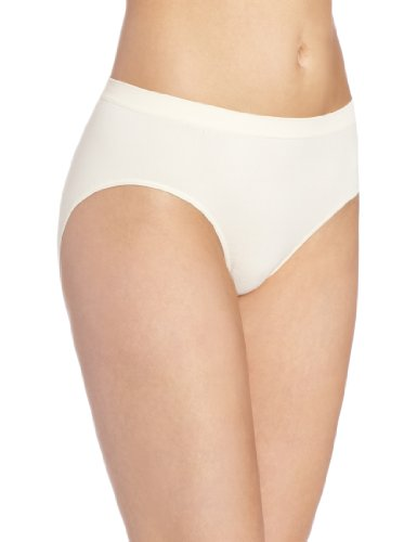 Barely There Underwear - Bali Women's Microfiber Hipster, Light Beige, 6/7