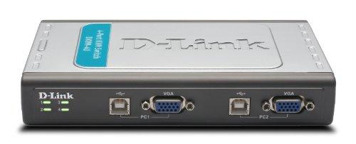 D-Link 4-Port USB KVM Switch (DKVM-4U) by D-Link