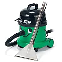Numatic Top-of-the-line Hi-Power Wet or Dry Canister Vacuum Cleaner with Professional Accessory Tool Kit, GVE370, George (Color: Green)