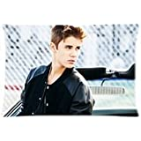 """Justin Bieber Pillowcases Custom 20""""x30"""" Two Sides Cool Comfortable Pillow Case"""