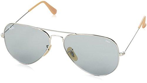 Ray Ban Aviator Blue Green - Ray-Ban RB3025 Aviator Evolve Photochromic Sunglasses,