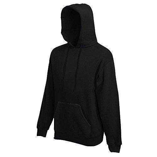 Fruit of the Loom - Kapuzen-Sweatshirt 'Hooded Sweat' M,Black