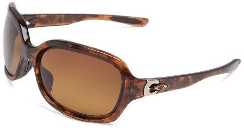 Oakley womens Pulse OO9198-16 Polarized Sport Sunglasses,Scarlet,55 - Womens Oakleys Sunglasses