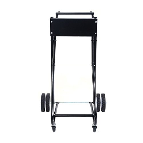 goplus 315 lbs outboard boat motor stand carrier cart