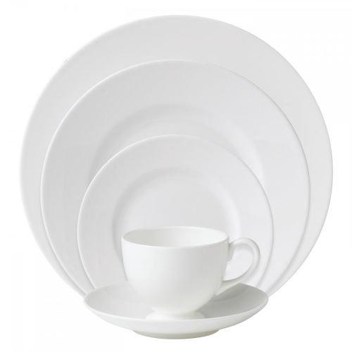 - Wedgwood 0010540400 White 5-Piece Place Setting